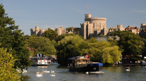 Windsor Castle - Turrets on the Thames
